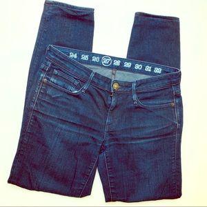 Earnest Sewn Harlan .495 Dark Wash Skinny Jeans 27